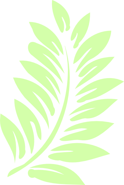 Palm Leaf Clip Art at Clker.com - vector clip art online, royalty free ...