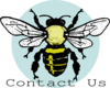 Little Bee Contact Us Clip Art
