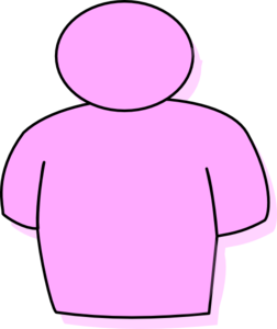 Person Pink Clip Art