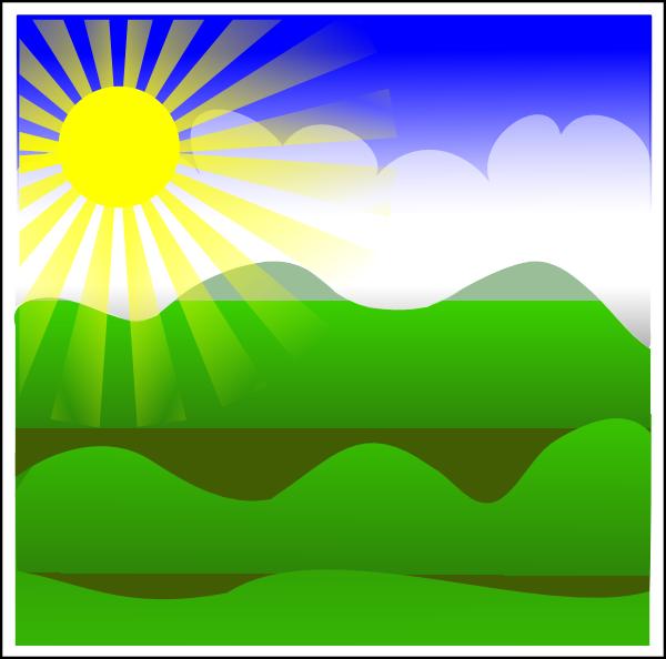 sunrise 2 clip art at clker com vector clip art online royalty rh clker com clipart sunrise sunset clip art sunrise mountain with trees
