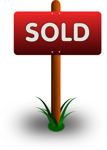 Sold Sign Clip Art at Clker.com - vector clip art online, royalty free ...