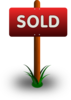 Sold Sign Clip Art