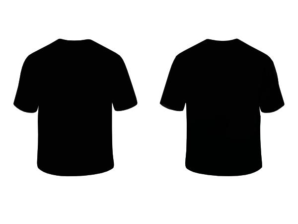Black Shirt Hi Contoh Kaos Polos Warna Merah