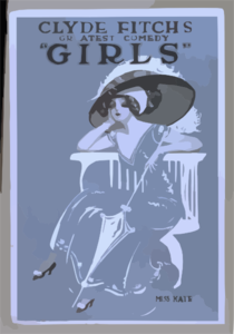 Clyde Fitch S Greatest Comedy,  Girls  Clip Art