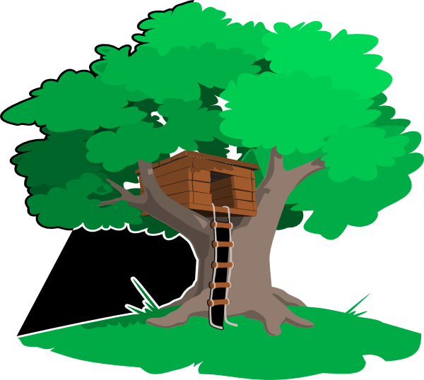 tree house clip art at clker com vector clip art online royalty rh clker com tree house clipart png tree house clipart black and white