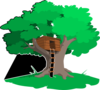 Tree House Clip Art