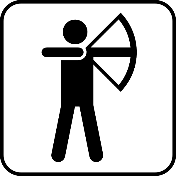 Archery clipart