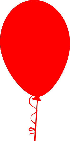 Red Balloon Clip Art at Clker.com - vector clip art online ...