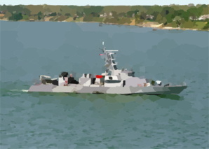 Uss Firebolt (pc 10) Underway Clip Art
