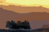 A Landing Craft Air Cushion (lcac) Assigned To Assault Craft Unit Four (acu-4), Homebased In Little Creek, Va., Makes Her Way Back To Oak Hill After Training In The Arabian Gulf Clip Art