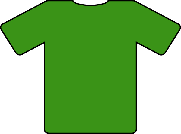 Green Jersey Clip Art at Clker.com - vector clip art online, royalty ...