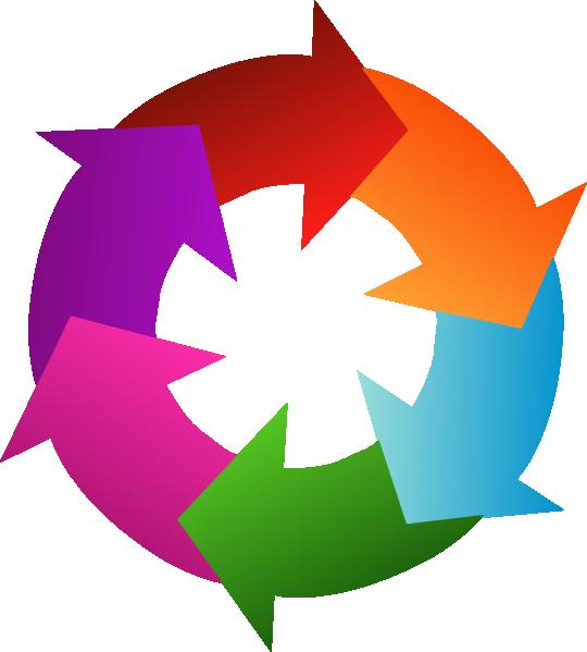 free clipart circular arrow - photo #16