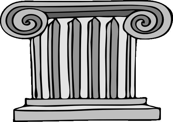 Pillar Clip Art : Pillar clip art at clker vector online