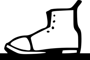 Clothing Shoes Boots Clip Art
