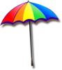 Rainbow Umbrella Clip Art