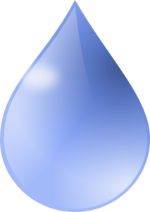 Water Drop 2 Clip Art
