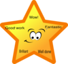 Reward Star Clip Art