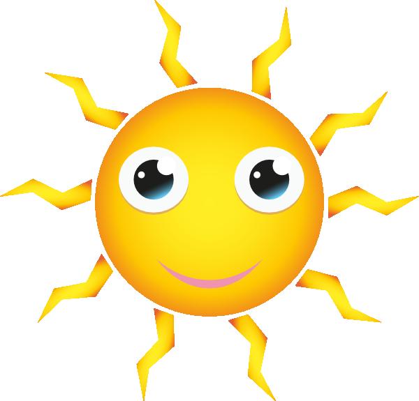 Sun Cartoon clip art