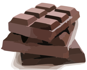 Chocolate Bars Clip Art
