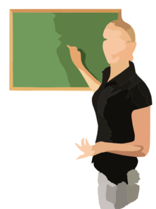 School Teacher Clip Art