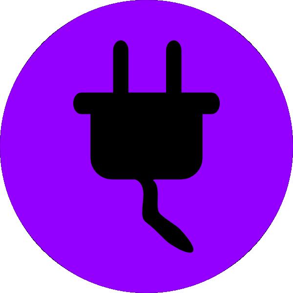 electricity symbol multicolour clip art at clkercom