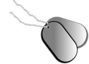 Threshold Dog Tag Clip Art