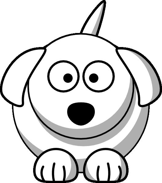 Line Drawing Dog Face : Dog outline clip art at clker vector online