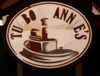 Tugboat Annies Sign 2 Vector Clip Art
