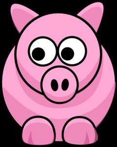 piggy clip art at clker com vector clip art online royalty free rh clker com pig clip art cartoon pig clipart black and white