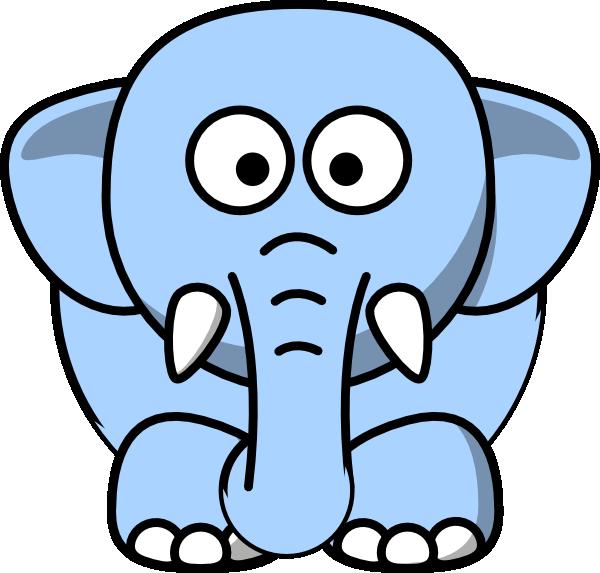 clipart elephant face - photo #12