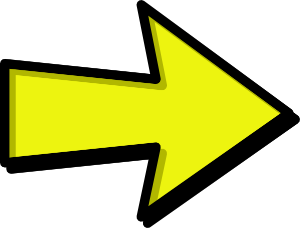 clipart yellow arrow - photo #2