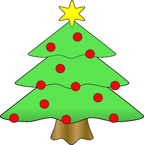 large christmas tree clip art free - photo #14