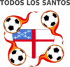 Episcopal Shield Soccer With Fire Clip Art