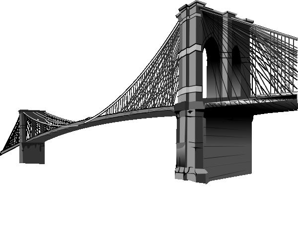 brooklyn bridge only clip art at clker com vector clip art online rh clker com Brooklyn Bridge Drawing Brooklyn Bridge Silhouette