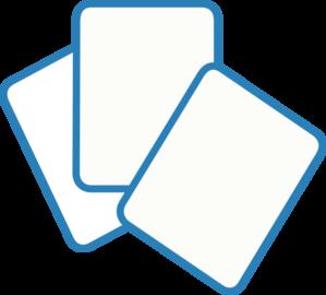 card deck blue clip art at clker com vector clip art online rh clker com deck of playing cards clipart deck of playing cards clipart