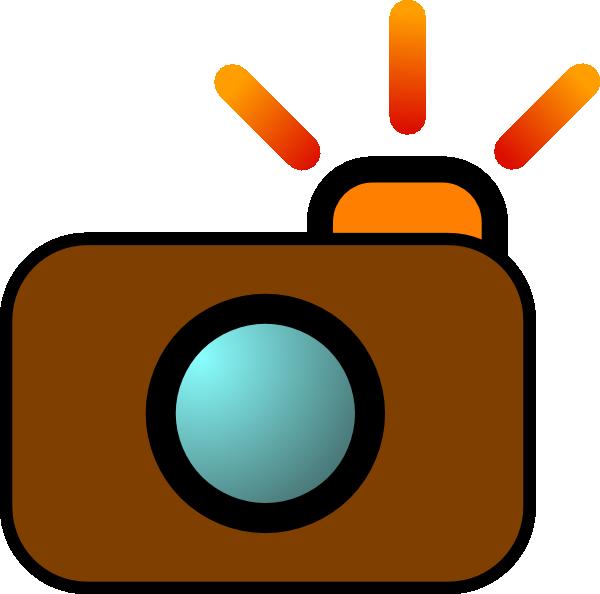 camera brown clip art at clker com vector clip art online royalty rh clker com free clip art camera images free clip art camera icon