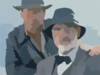 Sean Connery E Harrison Ford Interpretam Pai E Filho Em Indiana Jones E A Ultima Cruzada X Clip Art