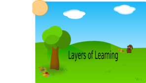 Layers Of Learning 1 Clip Art