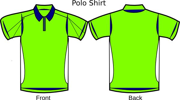 Polo Template 5s Lubetech Shirt Clip Art at Clker.com