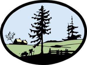 Black N White Country Clip Art at Clker.com - vector clip ...