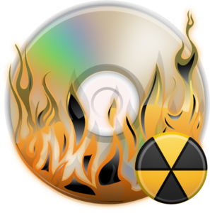 Burn Disc Clip Art