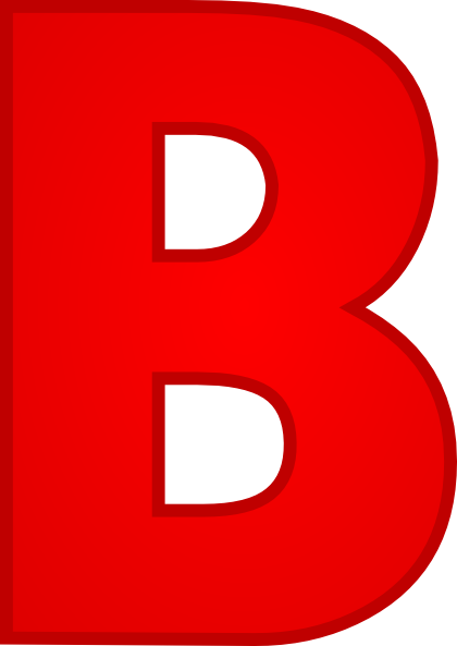 Superior Letter B Clip Art At Clker.com   Vector Clip Art Online, Royalty Free U0026  Public Domain