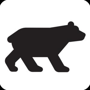 Bear Black Clip Art at Clker.com - vector clip art online ...