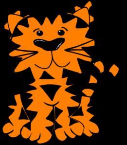 tiger clip art at clker com vector clip art online royalty free rh clker com tiger cub clipart free tiger cub clipart free