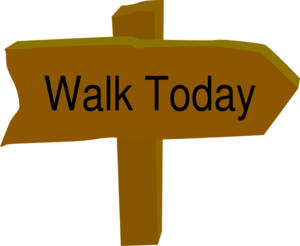 Walk Today Clip Art