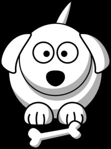 cartoon dog outline clip art at clker com vector clip art online rh clker com dog head outline clip art dog head outline clip art