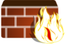 Firewall - No Fill Clip Art