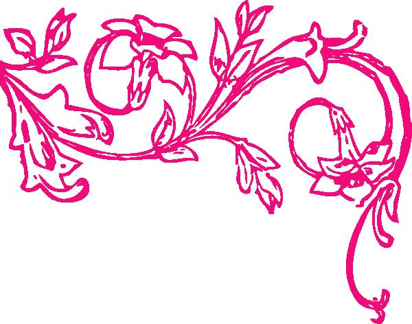 Swirl Flower Clip Art at Clker vector clip art