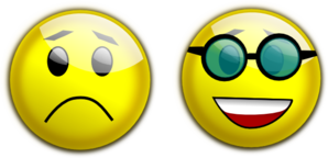 Smiley Glasses Sad Clip Art