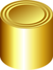 Gold Can Clip Art